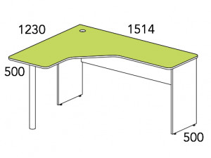 Угловой стол - 147518.1