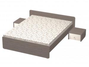 Кровать со спальным местом 160*200, без матраса - СФ-268607
