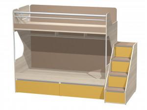 Лестница для 2х-ярусной кровати с 4-мя ящиками - Сф-262915