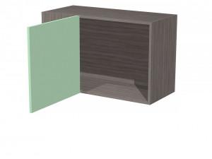 Полка угловая с дверкой, универсальная - СФ-266307