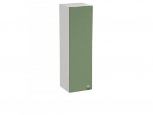Вертикальная книжная полка с дверкой - СФ-266326L - ЛЕВАЯ