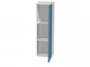 Вертикальная книжная полка с дверкой - СФ-266326R - ПРАВАЯ