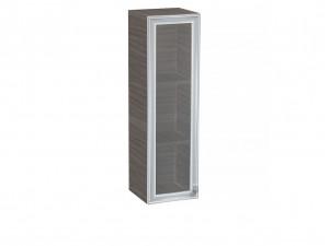 Вертикальная книжная полка со стеклянной дверкой - СФ-266326-SL - ЛЕВАЯ