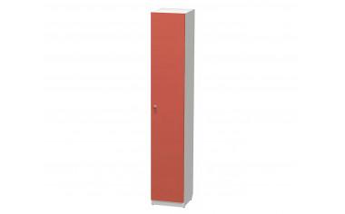 1-дверный шкаф с полками - СФ-264101