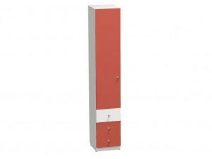1-дверный шкаф ЛЕВЫЙ, гл. - 450 мм., с 3-мя ящиками и полками - СФ-264102L