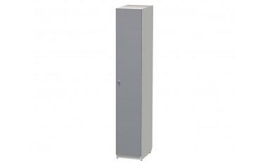1-дверный шкаф со штангами и полками - СФ-264104