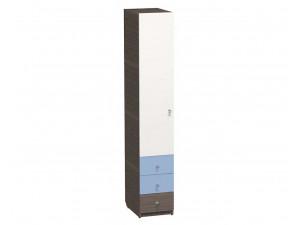1-дверный шкаф ЛЕВЫЙ, гл. - 600 мм., с 3-мя ящиками и штангой - СФ-264105L