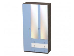 Трех-дверный шкаф с полками с 3-я ящиками и штангой - СФ-264108