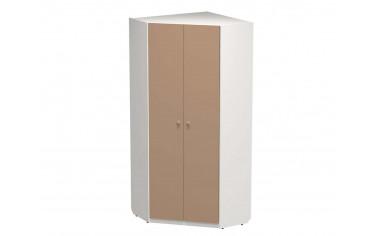 Угловой двух-дверный шкаф с полками и штангами - СФ-264109