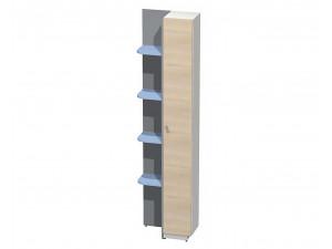 шкаф-окончание с угловыми полками ПРАВЫЙ, для шкафа гл.-600 мм. - СФ-264110R