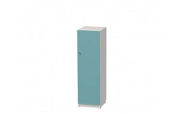 1-дверный шкаф низкий с полками - СФ-264144R