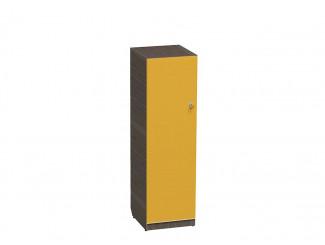 1-дверный шкаф низкий 1401 мм, ЛЕВЫЙ, с полками - СФ-264144L