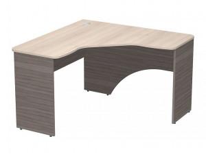 Угловой письменный стол, с лекальной столешницей - СФ-267212