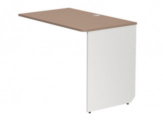 Приставной письменный стол длиной 1000мм, нога СПРАВА - СФ-263406