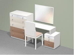 Комод и тумба со встроенным туалетным столом (комплект универсальный) - СФ-267517