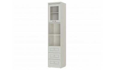 1-дверный универсальный шкаф с полками и ящиками - 314103-s