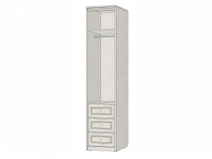 1-дверный шкаф со штангой и с ящиками - 314105-L (левый)