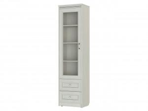 Одинарная шкаф-витрина, 1892 мм, с 2-мя ящиками - 314111-L (левая)