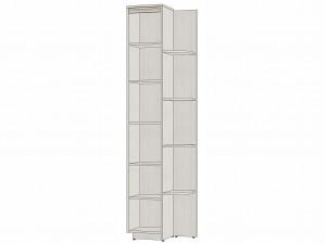 Шкаф-окончание, с 4-мя полукруглыми полками и 2-мя дверками - 314113 (ставить СЛЕВА)