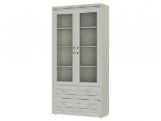 Двух-дверный шкаф, высотой 1892 мм., с полками, ящиками и двери стекло - 314114