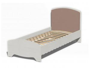Кровать со сп. м. 90*200, с ортопедом, без матраса и с мягким изголовьем - 318601
