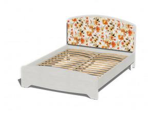 Кровать со сп. м. 160*200, с ортопедом, без матраса и с мягким изголовьем - 318816