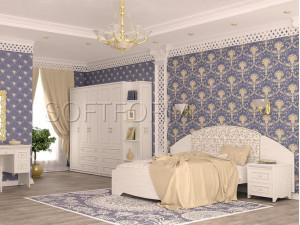 Дополнительная боковая стенка к изголовью кровати - 318062  (ПРАВАЯ)