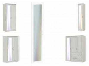 Зеркало для высокой двери шкафа - 315401-L - левое
