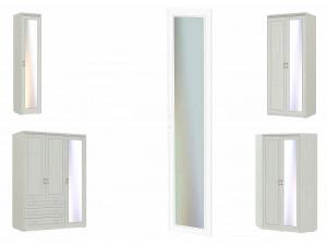 Зеркало для высокой двери шкафа - 315401-R - правое