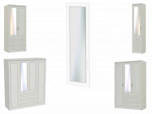 Зеркало для короткой двери шкафа - 315405 - левое